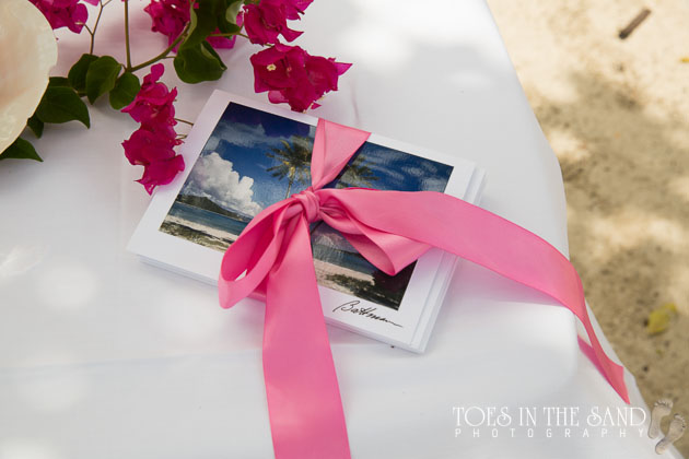 Unity ceremony for vow renewal in St. Thomas