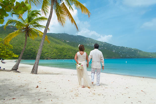 Photography for a vow renewal ceremony in st. thomas